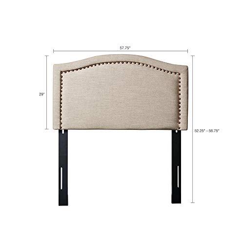 Nadine Upholstery Headboard Natural Full ()