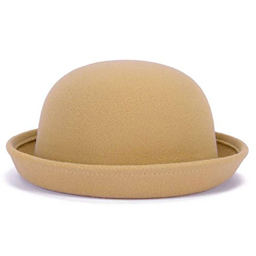 Lujuny Wool Round Bowler...