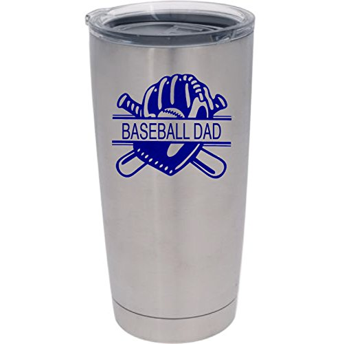 Baseball Tumbler Monogram Design Options product image