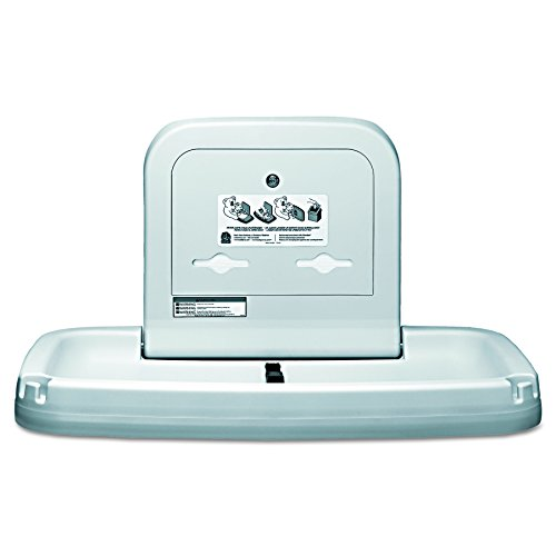 Koala Kare KB200-00 Horizontal Wall Mounted Baby Changing Station, Cream by Koala Kare