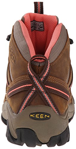 Voyageur Brown Boot KEEN Hiking Mid Coral Fusion Cascade Women's wHTq6gnxqP