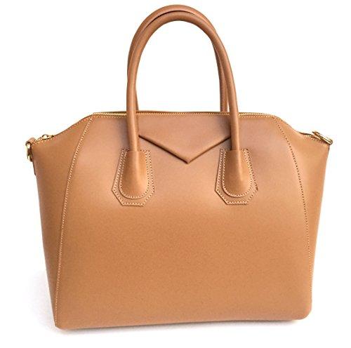 véritable Italie main en cognac cuir en Lissé Sac Fabriqué Model Rebecca SUPERFLYBAGS Mini à 7xwqTER