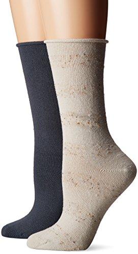 HUE Womens Tweed Stripe Boot