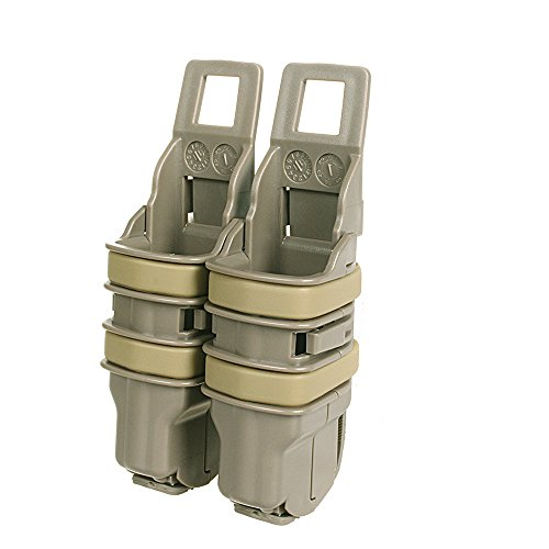 Tactical Magazine Pouch Bag Portable Fast Mag Pouch FOR Pistol Double Stack 9mm Molle Strike System Small Nylon Bag