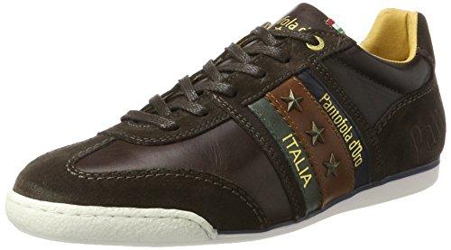 Di Uomo d'Oro Pantofola Moro Sneakers Testa Imola Coffee Bean xZHxtqOX
