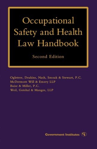 Occupational Safety and Health Law Handbook by Margaret S. Lopez (2009-07-16)