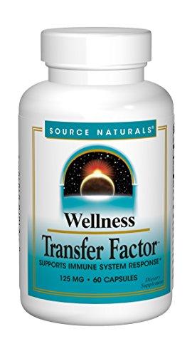 Source Naturals Wellness Transfer Factor 125mg - 60 Capsules (Factores De Transferencia)