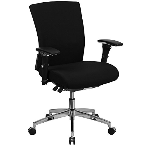 flash-furniture-black-fabric-multi-functional-executive-swivel-chair-with-seat-slider