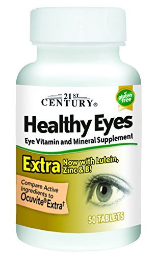 21st Century Healthy Eyes Extra Tablets, 50 Count