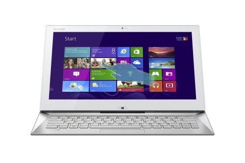Sony VAIO SVD13223CXW 13.3-Inch Duo Convertible Ultrabook (1.6 GHz Intel Dual Core i5-4200U Processor, 4GB DDR3, 128GB SSD, Intel HD Graphics 4400, Windows 8.1 Professional) White