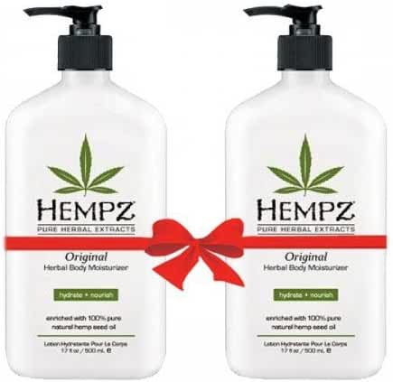 Hempz Herbal Moisturizer 17 Oz 2 Pack