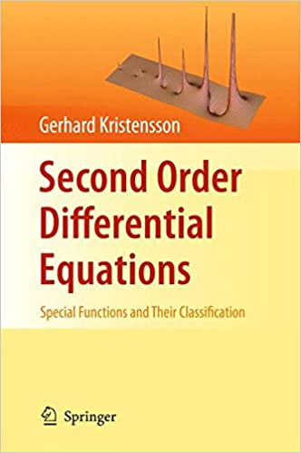 Book Second Order Differential Equations