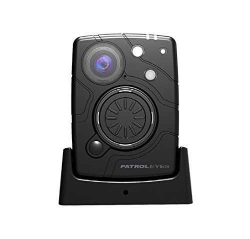 PatrolEyes WiFi HD 1080P 32MP Wide Angle Night Vision Police Body Camera SC-DV10