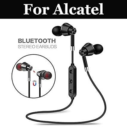 c37a87cd4fb Amazon.com: Bluetooth Earphone Wireless Headphone Sport Bluetooth Headset  with Mic Bass Ster for Pixi 2 3 4 4 Plus Power Shine Lite U5 Atom Bro Madrid  Mix2 ...
