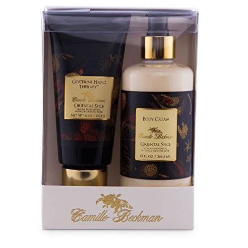 Camille Beckman Hand and Body Duet Set, Silky Body and Glycerine Hand Cream, Oriental ()