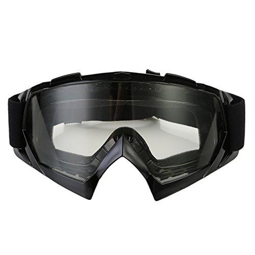 CICMOD Motorrad Brille Fahrerbrille Motocross Sport Kunststoff Brille Skibrille gegen Wind und Staub, Transparente…