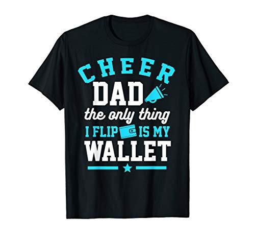 Cheerleader Dad Shirt Cheer Dad Wallet Flip Gift T-Shirt