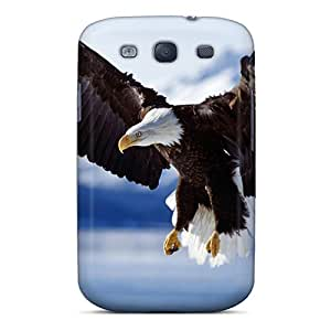 Top Quality Case Cover For Galaxy S3 Case With Nice In Flight Bald Eagle Appearance