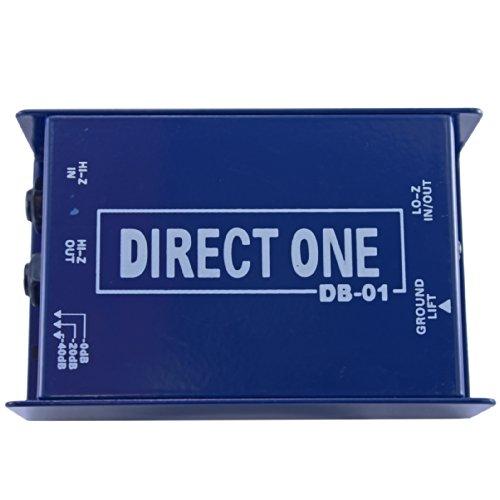 Passive Di direct box 1/4'' instrument to balanced & unbalanced XLR by Yovus (Image #1)