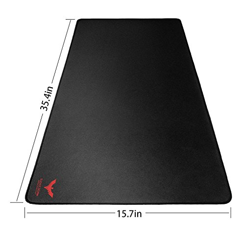 Havit Extended Large Gaming Mouse Pad, Non-Slip Rubber Base-36'' X 16'', 3mm Thick, Black (HV-MP855) by Havit (Image #1)