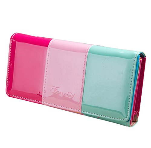 Wallet Small Fresh Wallet Mobile Phone Bag Pink - 2