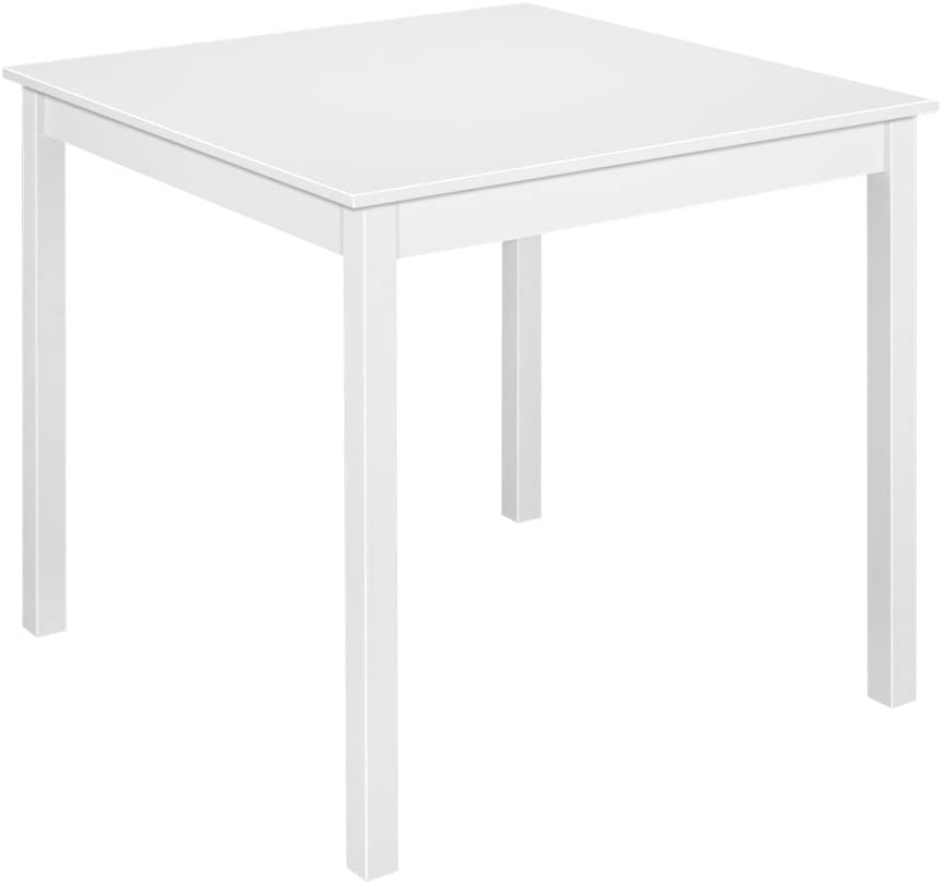 Panana Wooden Dining Table With 2 Chairs Contemporary Dining Set Three Colors Grey