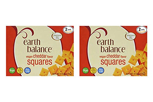 Earth Balance Vegan Cheddar Flavor Squares - 6 oz - 2 Count (2 Pack) by Earth Balance (Image #1)