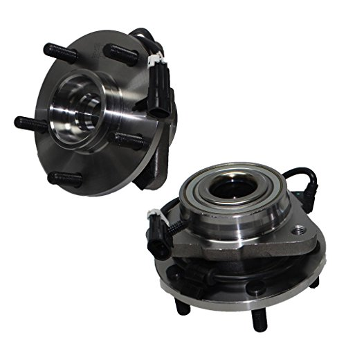 Detroit Axle - Pair of Brand New Front Wheel Hub and Bearing Assemblies for 2WD 98-05 Jimmy and Blazer by Detroit Axle (Image #1)