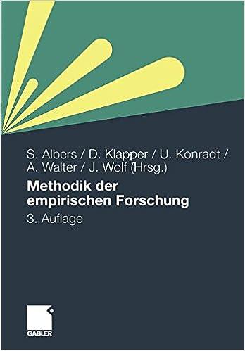 Book Methodik der empirischen Forschung (German Edition)