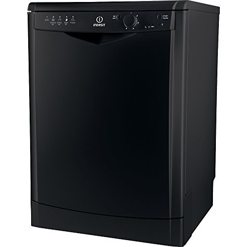 Indesit DFG 15B1 K freestanding 13places settings Dishwasher - Dishwasher (Stand-alone, Black, Buttons, Rotating, 13 places, 49 dB)