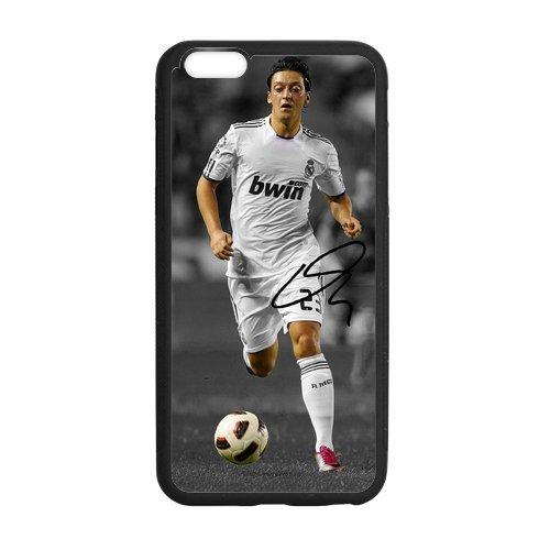 Onshop Custom Real Madrid Player Mesut Ozil Phone Case Laser Technology for iPhone 6 Plus 5.5 Laser Technology