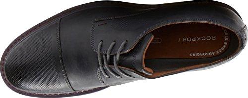 Rockportv82681-brw - Jaxson Puntale Con Cucitura Orizzontale Da Uomo New Griffin Leather