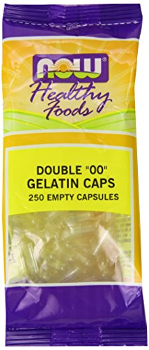 Now Foods '00' Gel Capsules, 250 Count