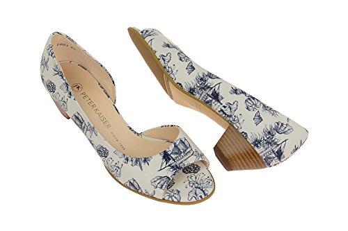 Peter Kaiser 01735/006 - Zapatos de vestir de Piel Lisa para mujer Weiß