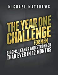 THIS PROGRAM HAS HELPED THOUSANDS OF MEN BUILD THEIR BEST BODIES EVER. WILL YOU BE NEXT?The Year One Challenge for Men is a workout journal companion to the bestselling men's fitness book Bigger Leaner Stronger.With this program, you ...