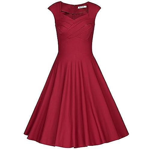 burgundy wedding guest dress