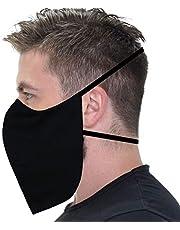 1, 3, 6 o 12 pz Cubreboca para Barba Reforzado Cubrebarba 4 capas Algodon Polipropileno Lavable Reutilizable Ajustable Adulto Talla Extra