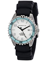 Momentum Women's 1M-DV07WA1B M1 Mini Analog Display Japanese Quartz Black Watch