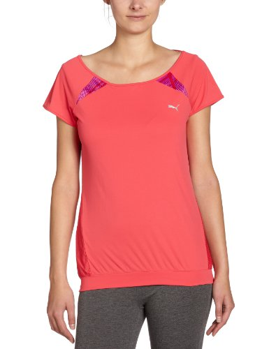 PUMA  - Camiseta para mujer teaberry red (teaberry red)