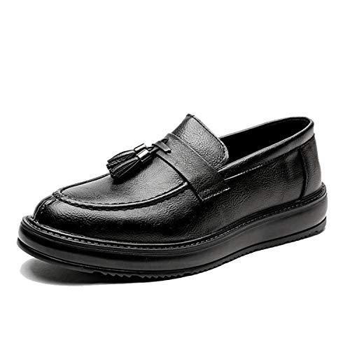 noir 39 EU Sunonvi Chaussures habillées pour Hommes Oxford en Cuir de Affaires Classic Gentle Man Chaussures Formelles