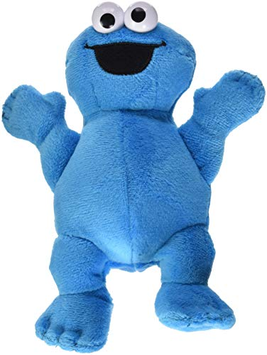 Playskool Friends Sesame Street Bean Bag Buddies Cookie Monster Plush, Brown