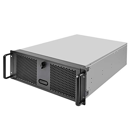 (SilverStone Technology 4U Rackmount Server Chassis with 3 X 5.25 Front Bays with CEB/ATX/mATX/Mitx Support RM400 Cases)