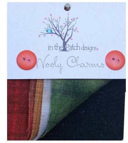 Wooly Charms In the Patch Designs Over Dyed 5