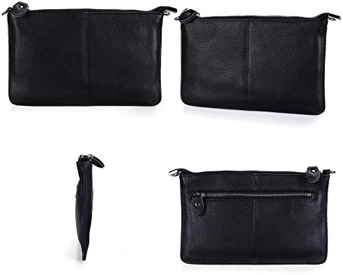 Befen Leather Wristlet Clutch Wallet Purses Small Crossbody Bags for Women
