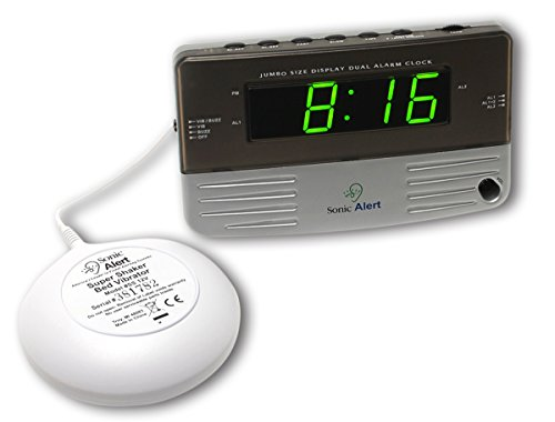 sonic-alert-loud-dual-alarm-clock-sb200ss-with-vibrating-shaker