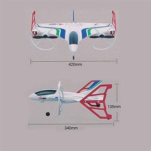 飛行機 おもちゃ 初心者と成人のための垂直フライトモデル飛行機デスクトップの装飾 初心者 子供向け (Color : White, Size : Ones)
