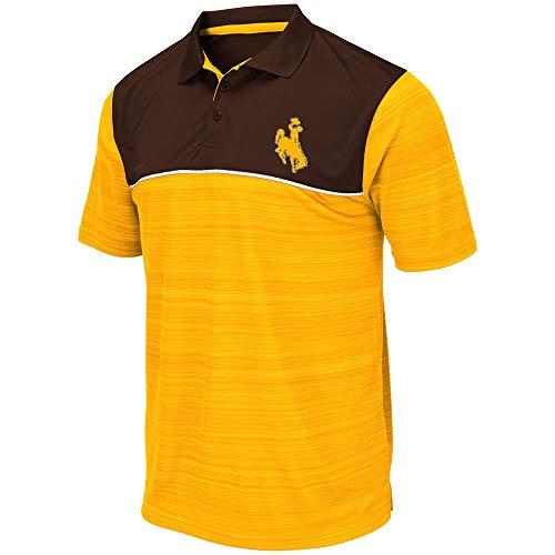 (Mens Wyoming Cowboys Levuka Polo Shirt - XL)
