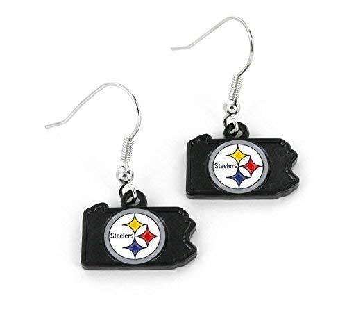 Steelers Pittsburgh Candle Nfl (NFL Pittsburgh Steelers Home State Earrings)