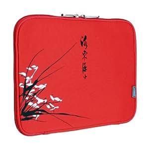 Funda para portátil Sleever rojo para tu Asus Eee PC 904 HD
