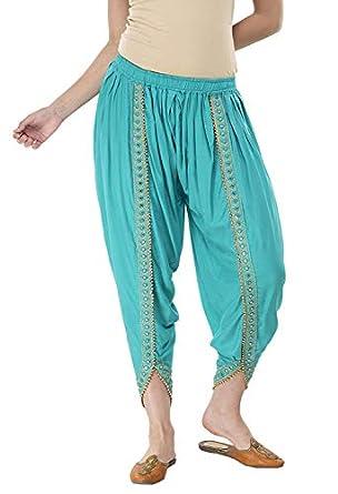 SriSaras Premium Rayon Harem Pants/Dhoti